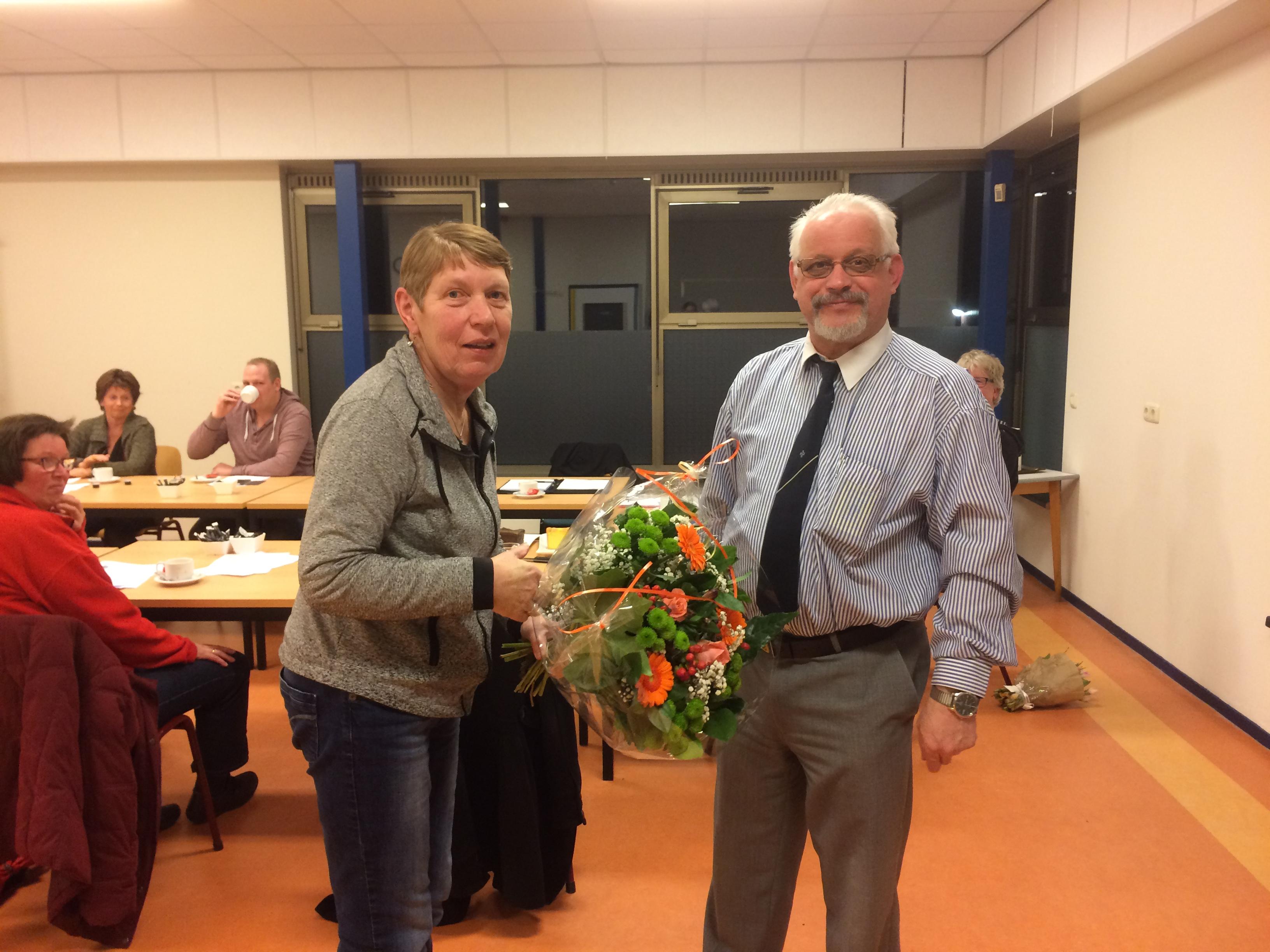 Lammie Sikken 40 jaar EHBO Sleen