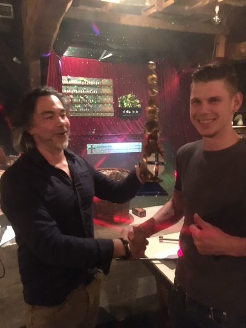 Jeroen Sikken winnaar van paasschietavond.