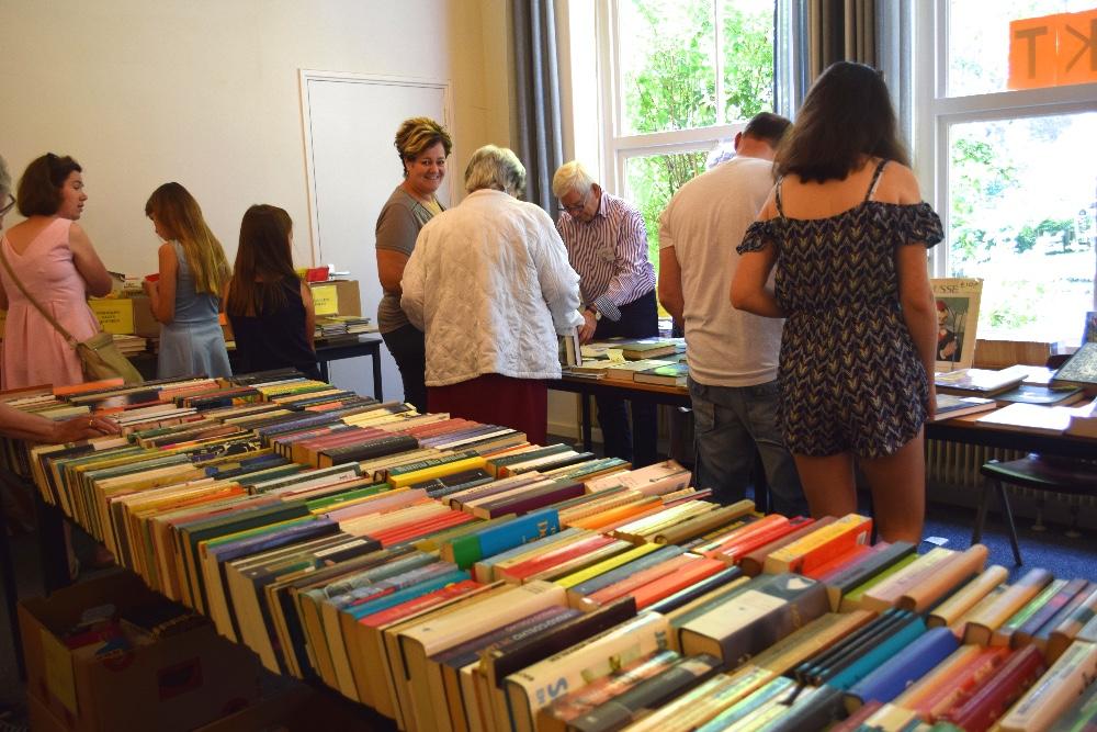 Boekenmarkten in Sleen eind juli van start